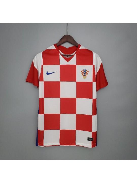 Camiseta Croacia 1ª Equipacion 2020 Eurocopa
