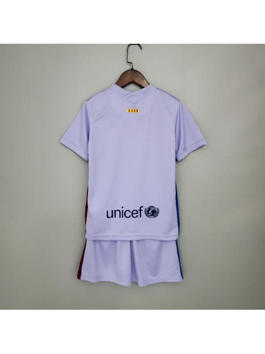 Camiseta 2ª Equipación FC Barcelona 21/22 Niño