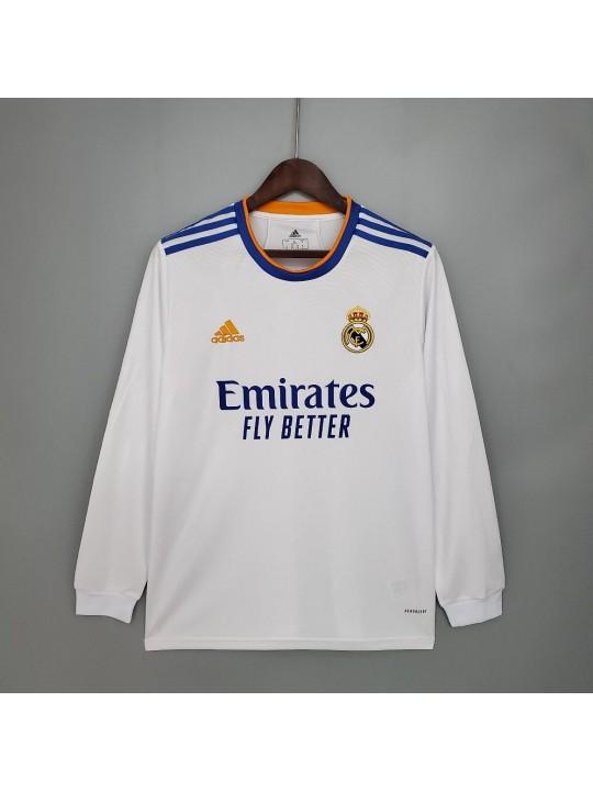 Camiseta Real Madrid Primera Equipación 21/22 ML