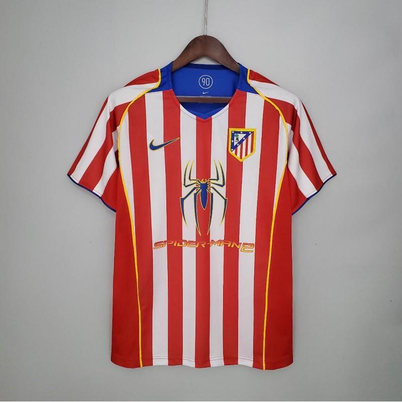 Camiseta Retro Atlético De Madrid 04/05