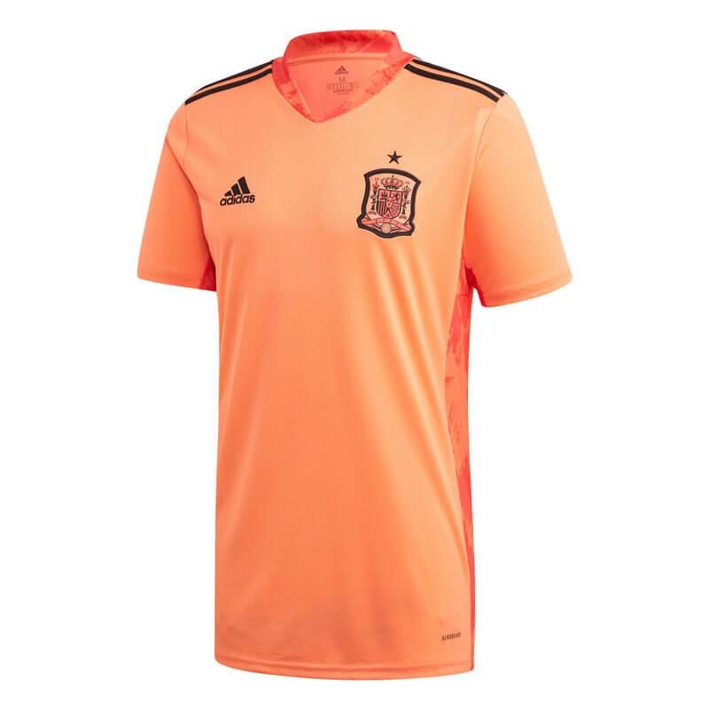 Camiseta de Portero España 2020 Eurocopa Naranja