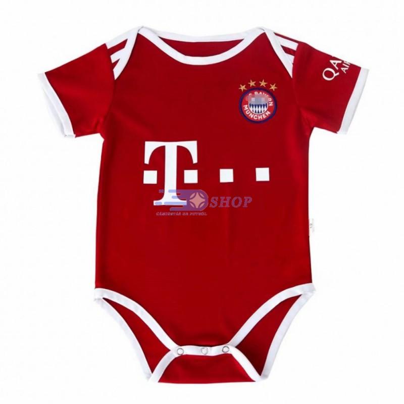 Camiseta Bayern Múnich 1ª Equipación 2020/2021 Baby