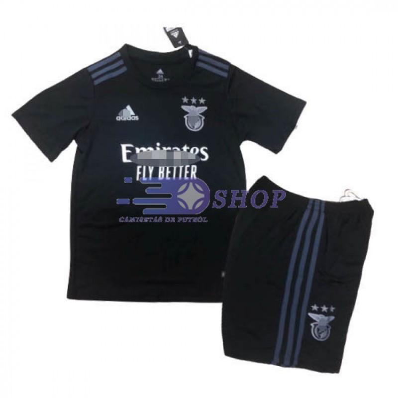 Camiseta Benfica 2ª Equipación 2020/2021 Niño Kit