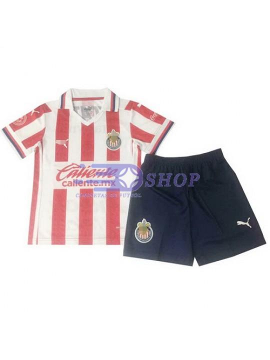 Camiseta Chivas 1ª Equipación 2020/2021 Niño Kit
