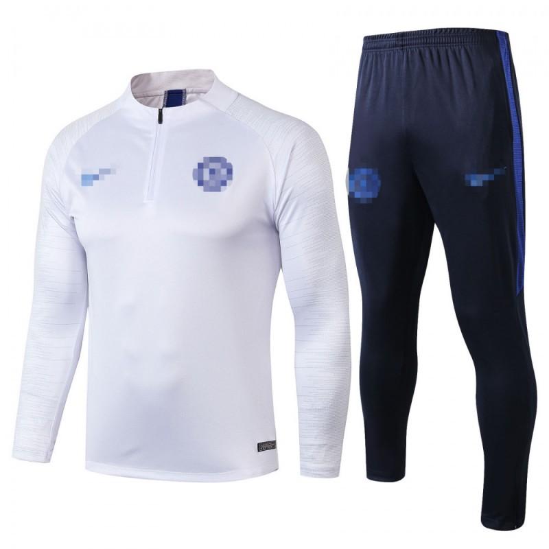 Sudadera Kits Chelsea FC 2019/2020 Blanco/Gris Ancho