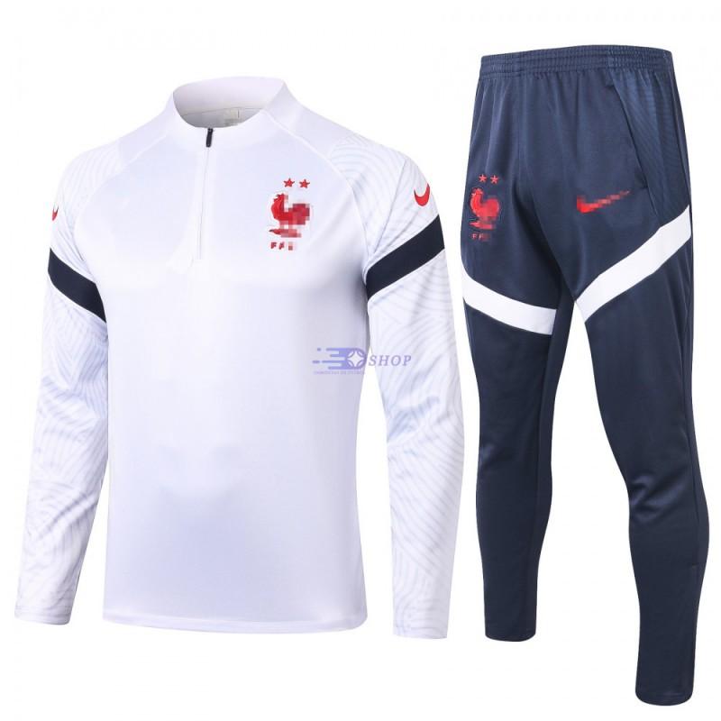 Sudadera Kit Francia 2020 Blanco