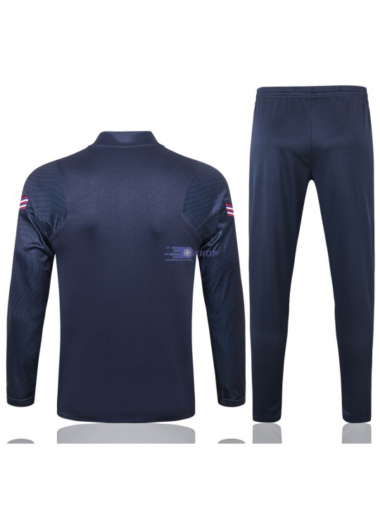 Sudadera Kit Inglaterra 2020 Azul Marino